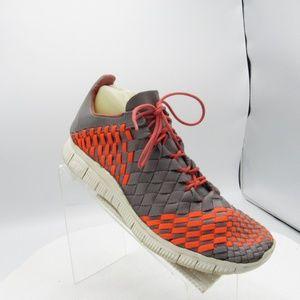 Nike Free Inneva Woven Size 9.5 M Gray Running